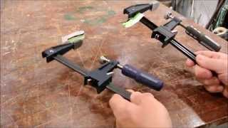 Harbor Freight F-clamps- AVOID black model
