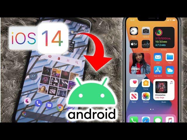 Terbaru, Buat Tampilan Android mu jadi iOs14