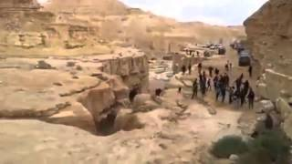 The incredible moment a river is REBORN in the Israel desert March 19, 2014