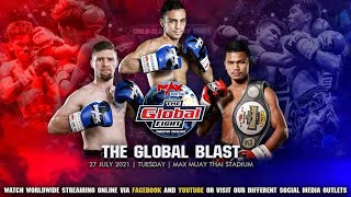 FULL FIGHT | THE GLOBAL FIGHT CHALLENGE | 27 JULY 2021