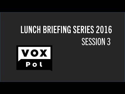 EC - VOX-Pol Lunch Briefing Series: Lone Actors, Extremism and Understanding Online Radicalisation