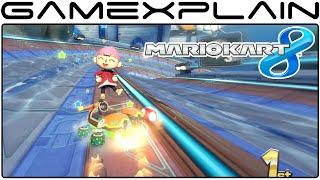 Mario Kart 8 DLC: Big Blue Gameplay (60fps - Full Race)