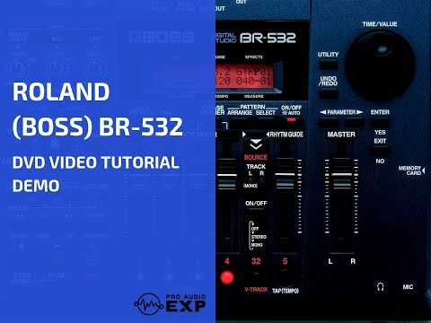 roland-(boss)-br-532-dvd-video-tutorial-demo-review-help