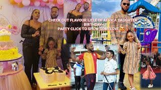 Flavour IJELE His First Wife Semah weifur39s Celebrate Their Daughters 5th Birthday  PARTY
