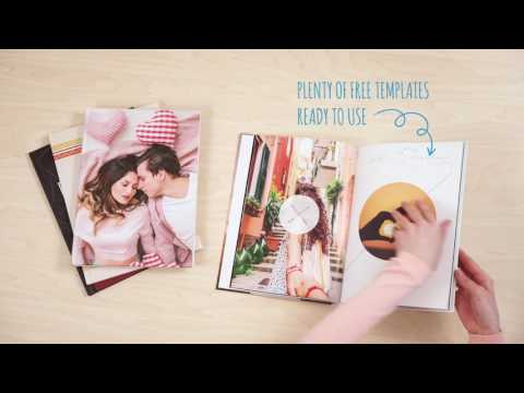 A closer look at a photo book created by colorland
