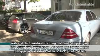 Bulgarien - Migrantenversteck in Schlepper-Lkw (#10)