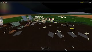 ROBLOX Storm Chasing - S5 EP10 - 318 MPH EF5 CRACKS EIGHT SLABS IN TWO TOWNS!
