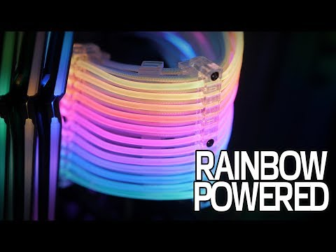 A RAINBOW POWERED PC - RGB Gone Too Far Part 2