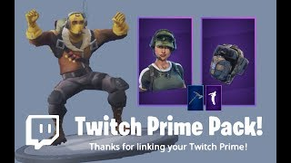 ADVANCED FORCES SET | TWITCH PRIME PACK #2 | FORTNITE MOBILE