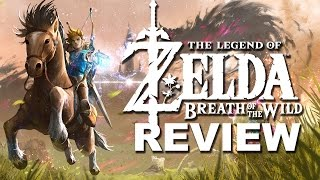 Legend of Zelda: Breath of the Wild Review (No Story Spoilers) (Video Game Video Review)