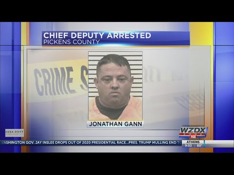 Pickens Co  deputy arrested for theft - YouTube