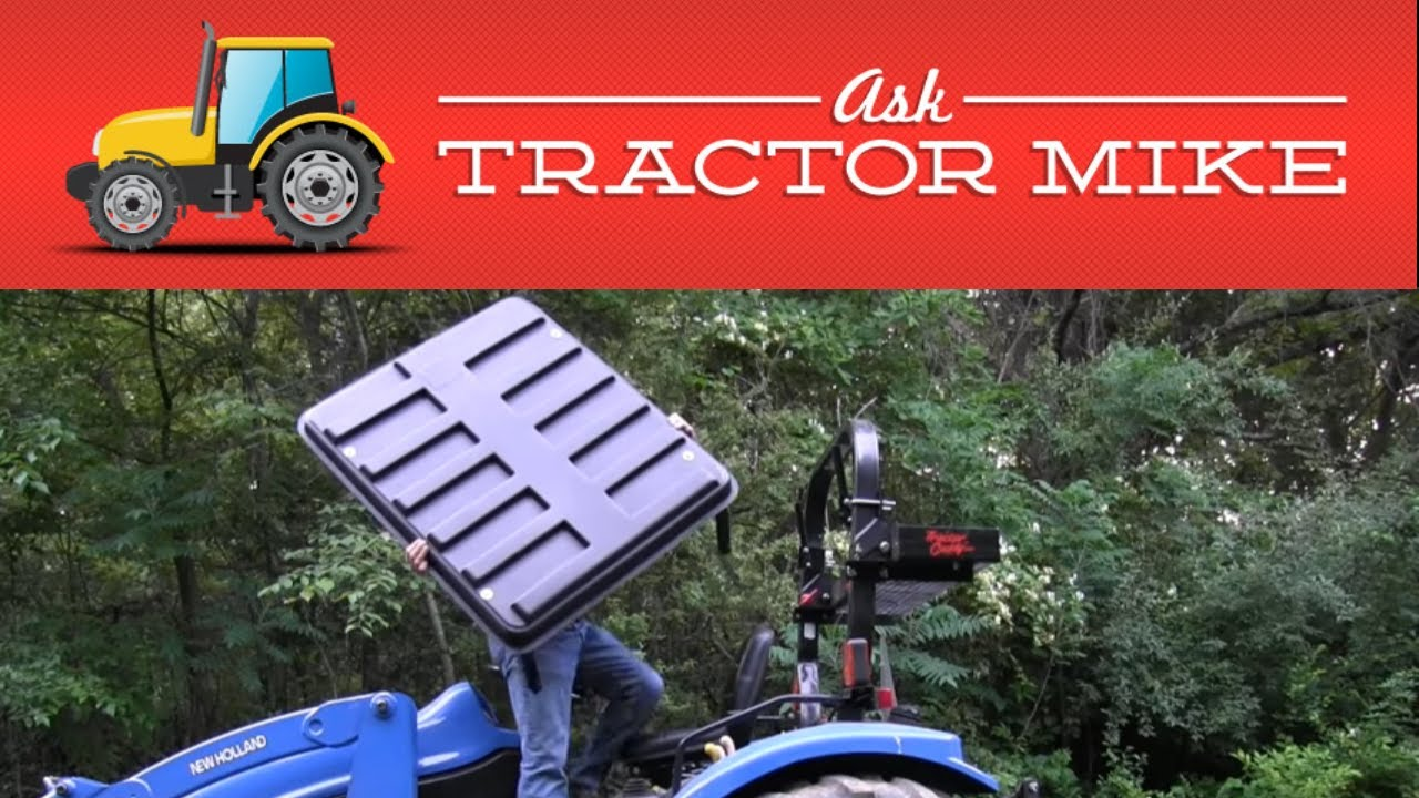Three Good Reasons for a Tractor Canopy