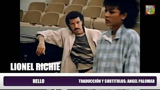 HELLO   LIONEL RICHIE Subtitulos en Español & Inglés