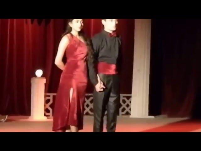 Sai Pallavi dance with Akaki Avaliani  in Tango festival 2013