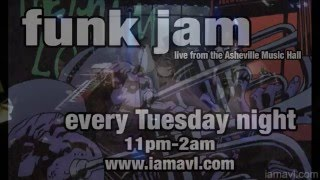 Tuesday Night Funk Jam @ Asheville Music Hall 12-8-2015