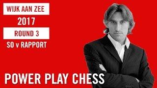 Tata Steel Chess Tournament 2017 Round 3 So v Rapport