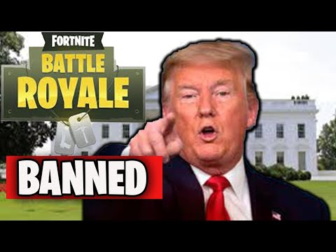 Heres Why TRUMP might BAN FORTNITE...