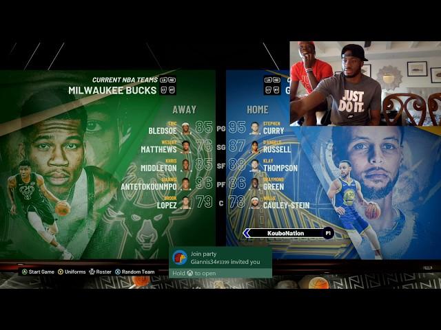 Bucks vs Clippers 2k20 Live Stream & more | Giannis & Thanasis vs Kostas & Alex
