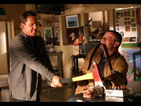 Jack cuts off Chase's hand  24 Season 3
