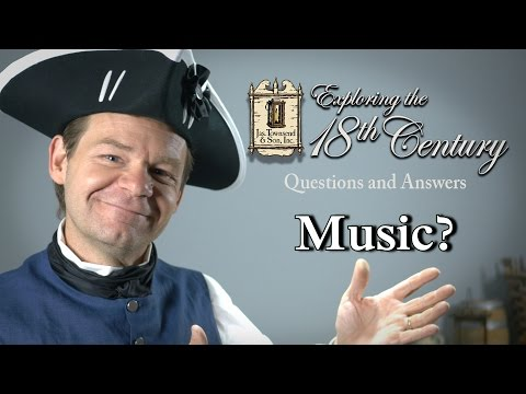 Music Exploring The 18th Century Episode 2