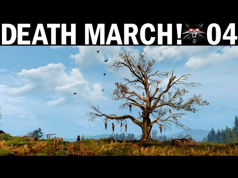 Death March - 04 - Hanged Man's Tree - Witcher 3 Let's Play