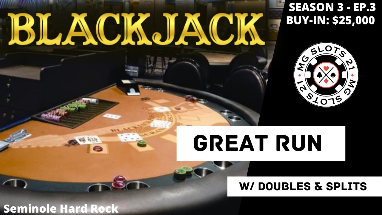 BLACKJACK Season 3: Ep 3 $25,000 BUY-IN ~ High Limit Play Up to $2500 Hands ~ DOUBLES & SPLITS