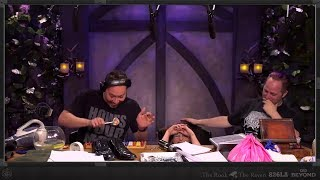 Sam Riegel's HILARIOUS Radio Play Sound Effects! (Critical Role)
