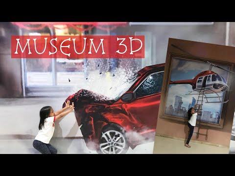 Zara Cute di Museum 3D Tasikmalaya   Lukisan 3D tampak Nyata
