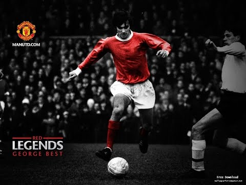 George Best ● Top 6 Goals for Manchester United ● Simply the