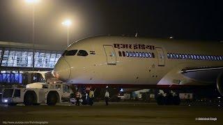 Night Departure - Air India Boeing 787 Dreamliner