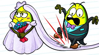 HILARIOUS WEDDING FAILS THAT WILL MAKE YOU CRINGE || VEGETABLE CARTOON