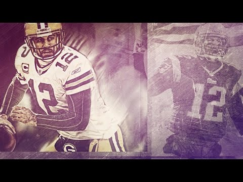 "Tom Brady vs Aaron Rodgers: ""Battle of Greatness"" ᴴᴰ"
