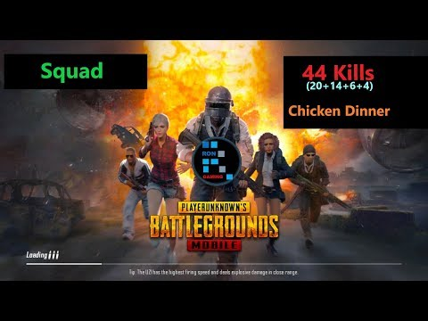 "[Hindi] PUBG Mobile | ""44 Kills"" In Squad#Oyyy aakhri banda kaha he lol"