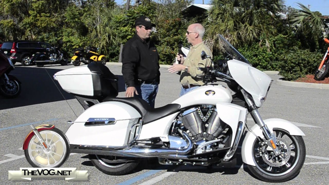 2012 Victory Cross Country Tour Motorcycle Review - YouTube