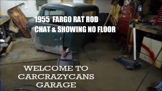 1955 DODGE  FARGO RAT ROD  BUILD  Ep. 11