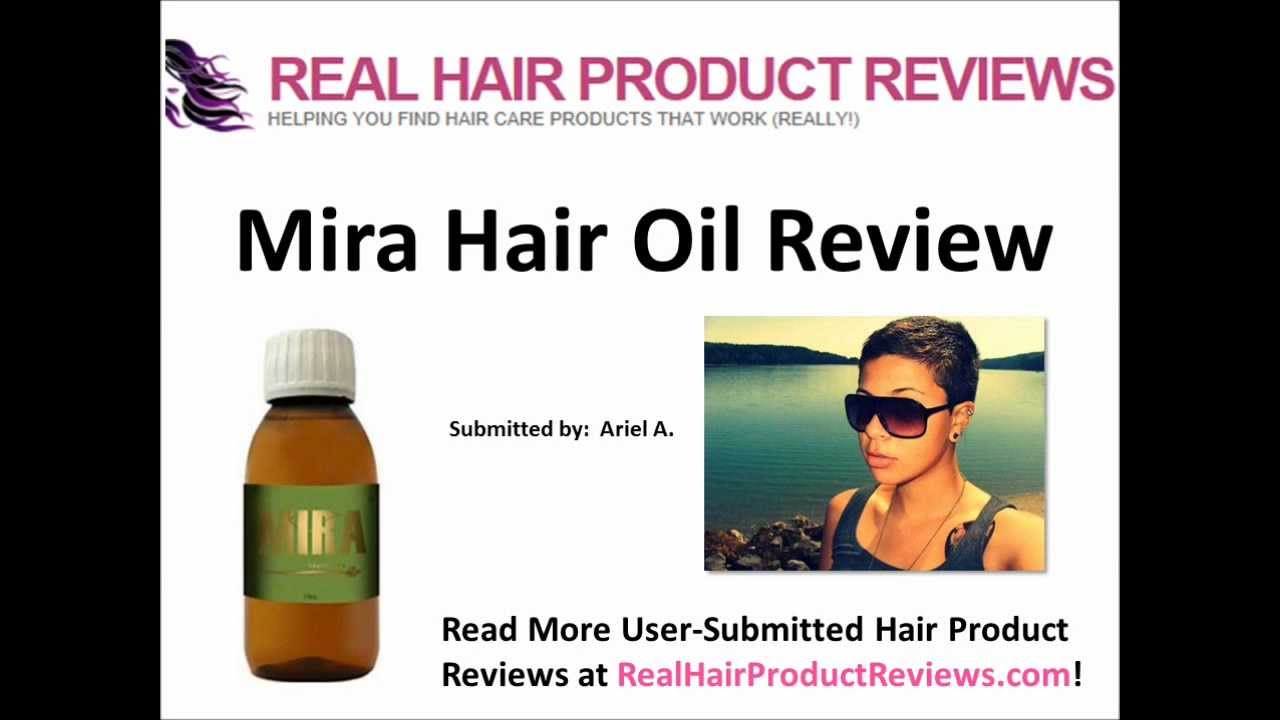 Mira Hair Oil Review By Ariel AMAZING Hair Growth YouTube