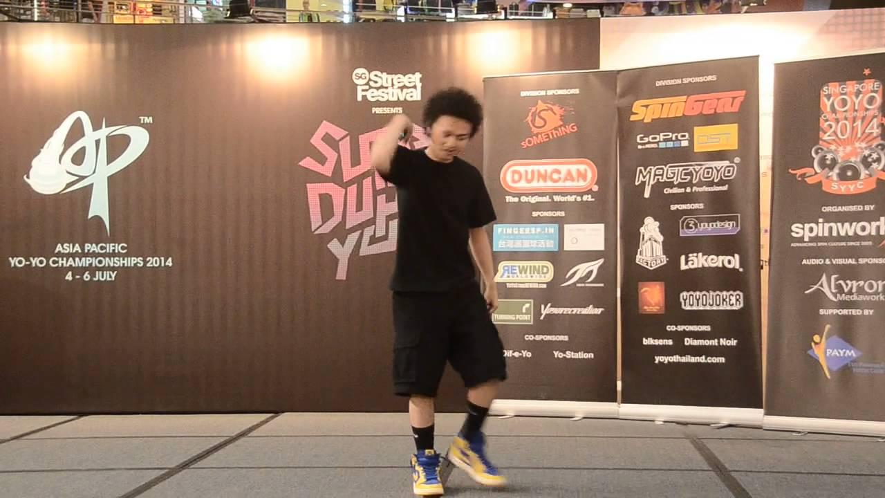 Result & Video] Asia Pacific Yo yo Championships 2014 Final