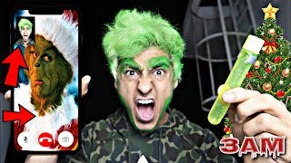 DO NOT FACETIME THE GRINCH AT 3AM!! *OMG I TURNED INTO THE GRINCH*