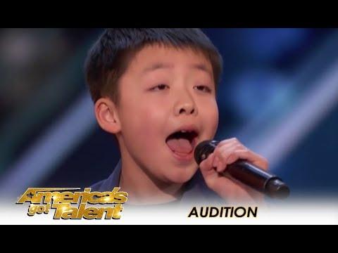 Jeffrey Li: Simon Cowell Promises A DOG To 12-Year-Old Child STAR! | America's Got Talent 2018