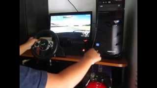 TOCA Race Driver 3 Gameplay - Genius Trio Racer F1 + DIY Shifter