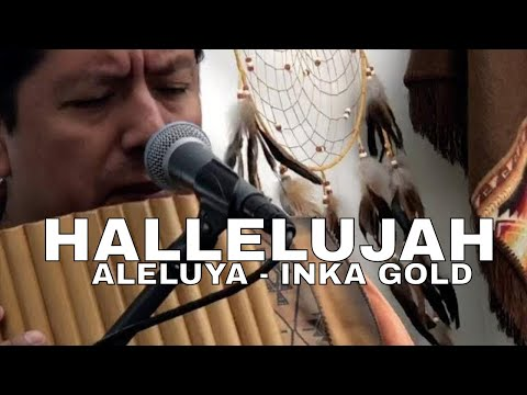 HALLELUJAH Pan flute and guitar by INKA GOLD at PRESCOTT ART SHOW AZ (LIVE)