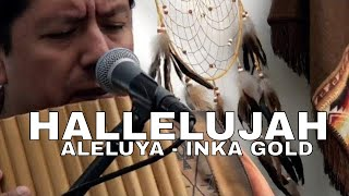 HALLELUJAH Pan flute and guitar by INKA GOLD at PRESCOTT ART SHOW AZ (LIVE)