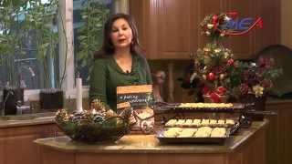 Samira's Kitchen # 144 Apricot Preserves Cookie Bars كعك مربى المشمش