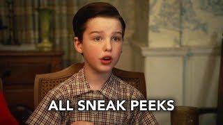 "Young Sheldon 1x22 All Sneak Peeks ""Vanilla Ice Cream, Gentleman Callers, and A Dinette Set"" (HD)"