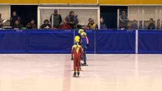 Шорт трек Сочинский олимп в Твери девочки детский 2 круга финал