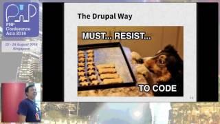 Drupal site building for developer - PHPConf.Asia