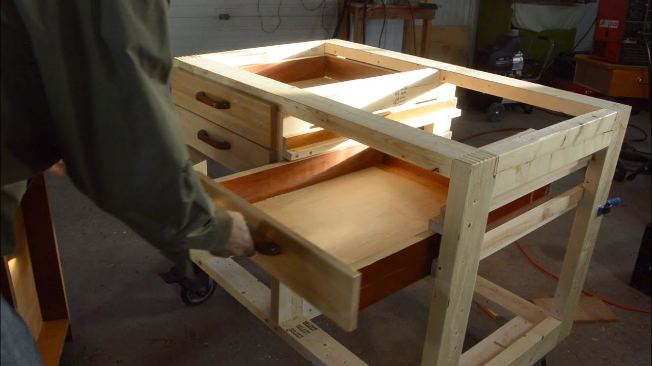 hardwood s garage clamp work similar workbench storage drawer gladiator itm ebay drawers table vice