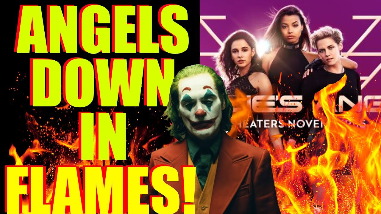 Movie Box Office - Charlie's Angels FALLS 69% !! Joker Continues to SMASH Records !!