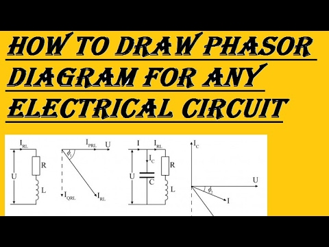 How can we draw phasor diagrams for any electrical circuitHindi
