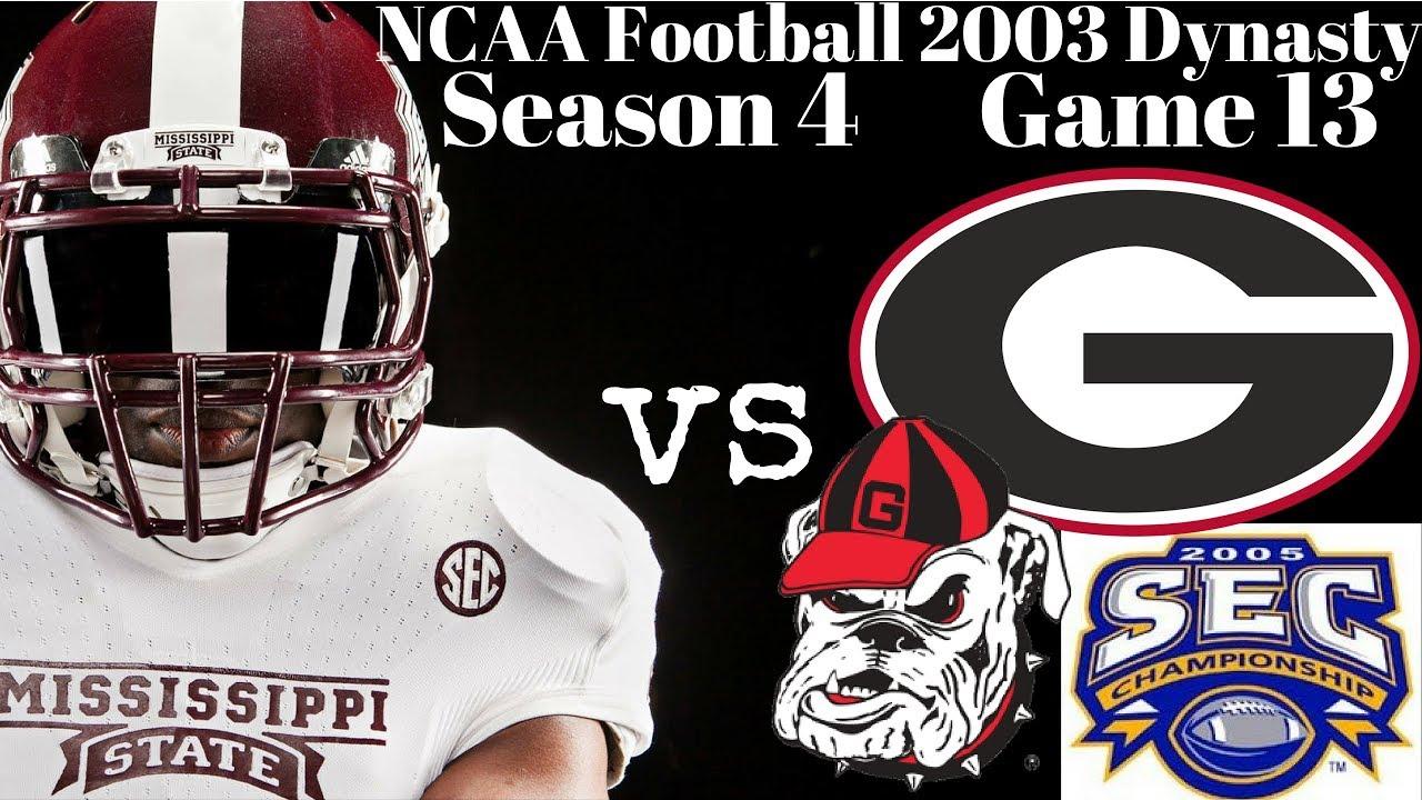 SEC Championship Game - NCAA Football 2003 Mississippi ...